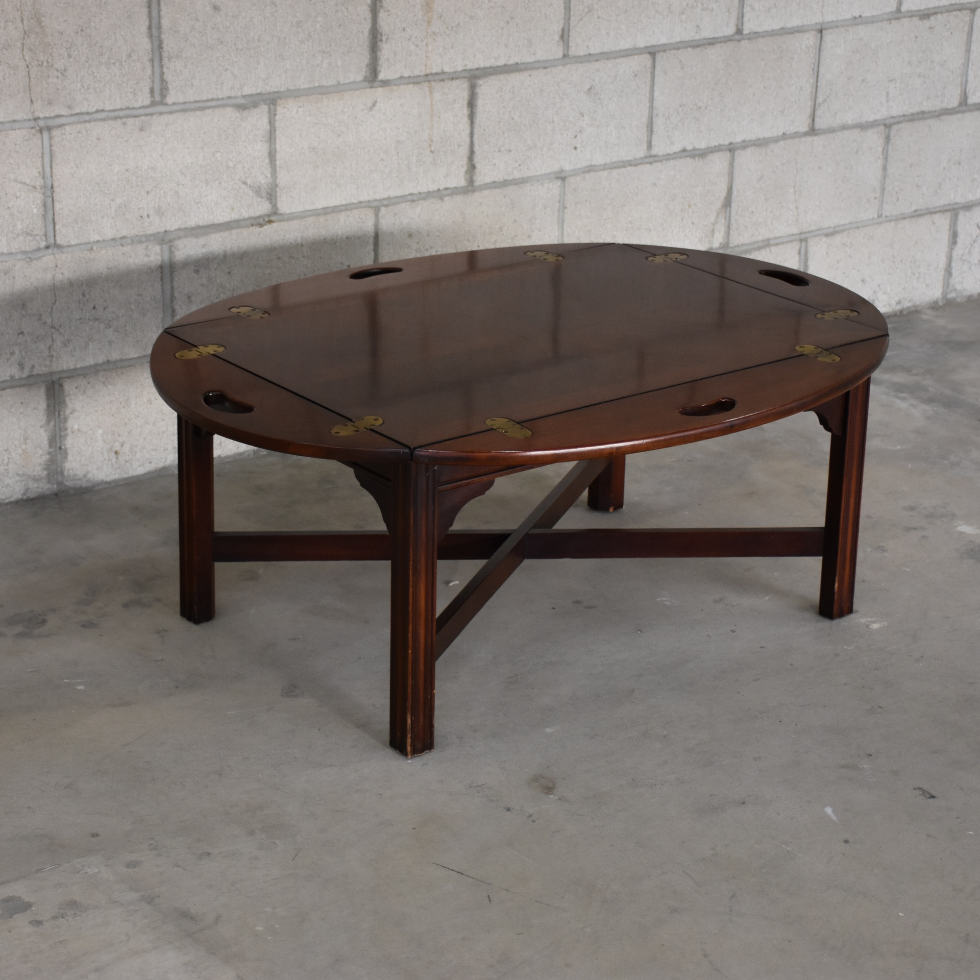 Butler Style Coffee Table Loveseat Vintage Furniture San Diego Los Angeles