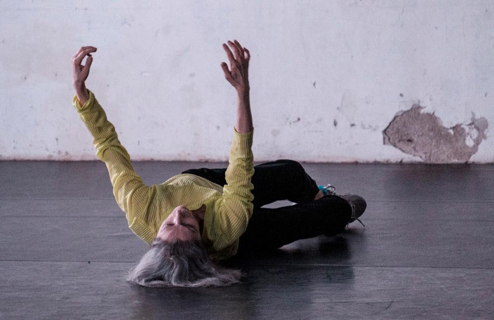 "Cristina Capriolis ""Ett hårlöst solo"". Foto: Franz Kimmel."