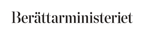 Berättarministeriet logo