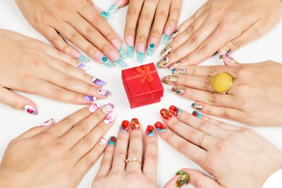 Ladies Nail Decals Subscription Box Photo 1