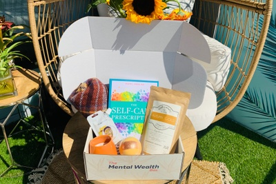 The Mental Wealth Box - Mental Health, Self-Care Subscription Box Photo 1