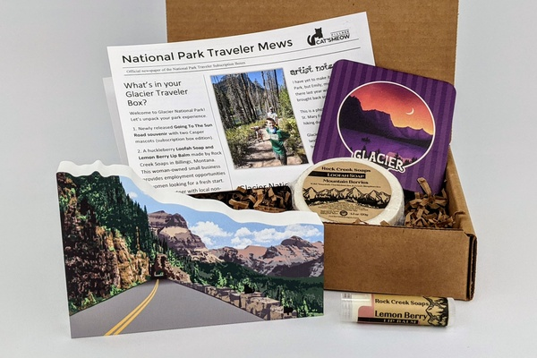 National Parks Subscription Box by Cat's Meow Village Photo 1