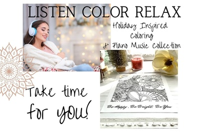 Listen-Color-Relax Photo 1