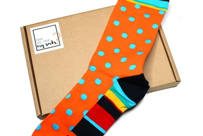 Monthly Colourful Socks Box Photo 1