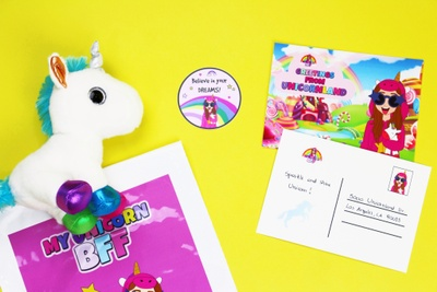 Unicorn Magical Mail Photo 3