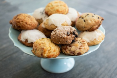 Monthly Delivery of All-Natural, Fresh Baked Mini Scones in Unique Flavors Photo 1
