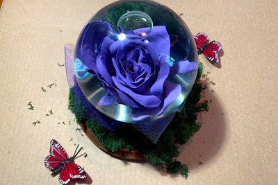 Forever Floral Globes Photo 1