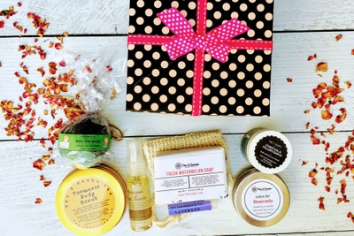 The S Soaps Handmade Skincare Variety Box (Self Care, Spa, Beauty) Photo 1