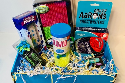 Box of Sensory Toys Photo 1