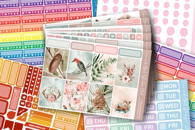 Coco and Opal Design Planner Sticker Subscription Photo 1