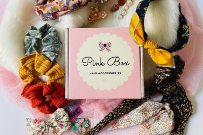 Pink Box Hair Accessories Photo 1