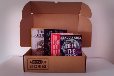 Monthly Box Of 4x Mixed Books- Mystery Gift Box For Book Lovers Photo 3