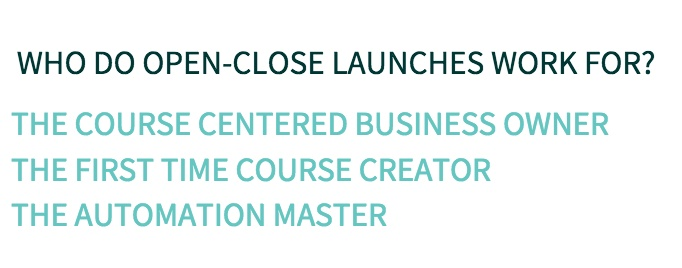 TYPE OF COURSE LAUNCH