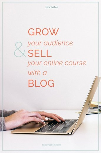 Blogs are a great way to establish and online presence and sell your online course. Here are the best practices for using your blog to sell your course.