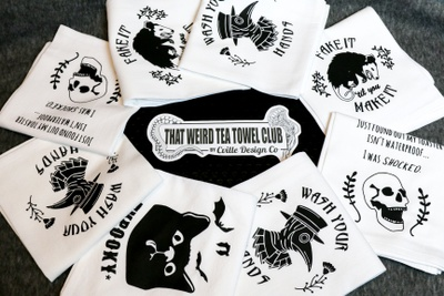 That Weird Tea Towel Club Photo 2