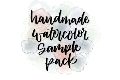 Handmade Watercolor Sample Pack Photo 1