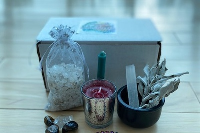 LLBox Subscription Box for Crystal Healing & Inner Peace Photo 1