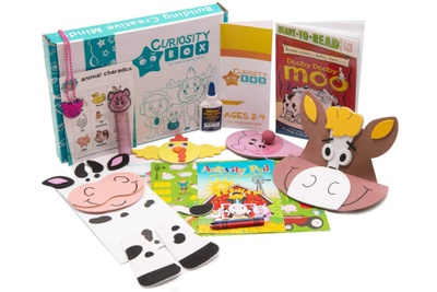 The Discovery Kids Craft & Educational Box for Ages 2-4 Photo 2