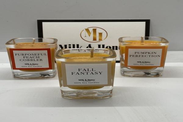 Milk & Honey Candles Photo 1