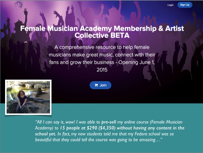 Female Musician Academy
