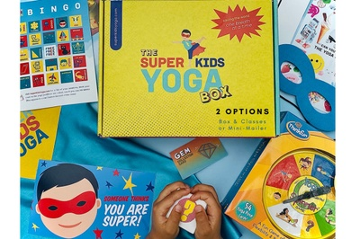 Super Kids Yoga Box (with Super Live Classes!) Photo 1