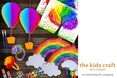 The Kids Craft, DIY Craft Kits Box or Subscription Box for Kids, Creativeana LLC The Kids Craft Photo 2