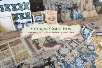 Vintage Craft Box by Cora Crea Crafts Photo 1