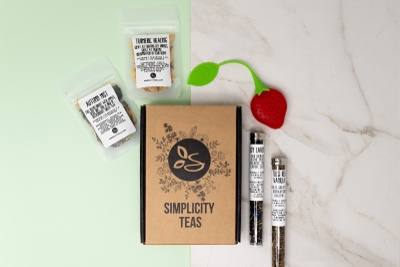 Tea, Simplicity Teas: #1 Rated Loose Leaf Tea Discovery Box Photo 1