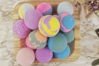 Bath Bombs by Sarkar Homestead Photo 2