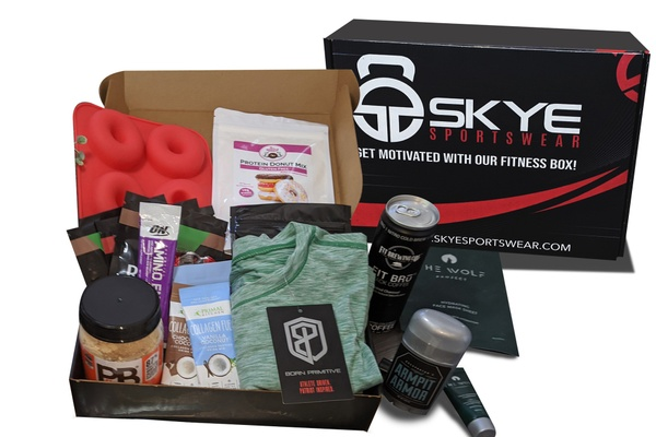 Men's Fitness Subscription Box (Surprise) - Bodybuilding subscription box Photo 1