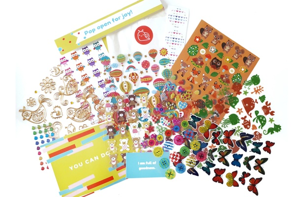Snail Mail Sticker Club Photo 1