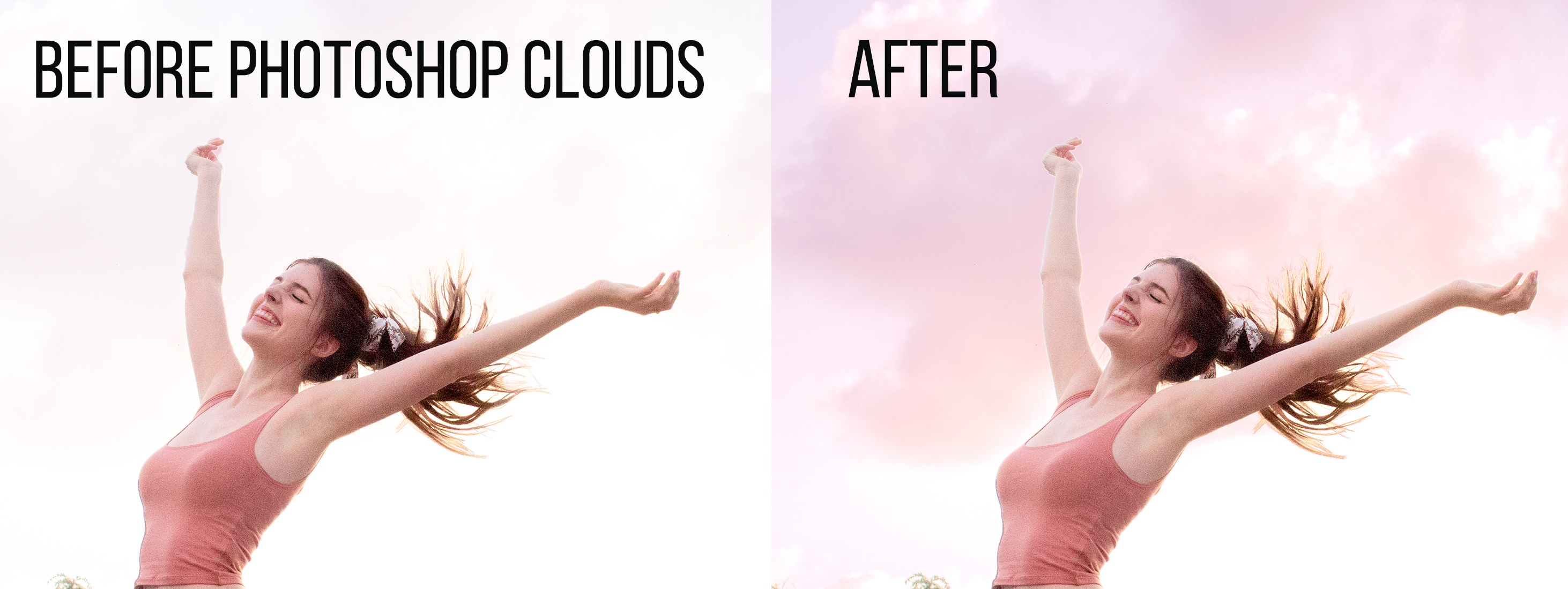 photoshop clouds