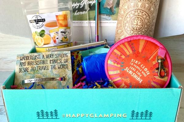 happy glamping subscription box