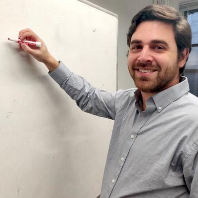 Nick Garcia, instructor at Berges Institute