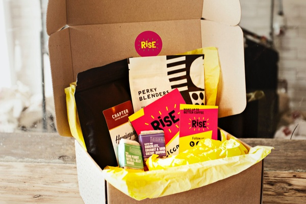 RISE coffee box Photo 1