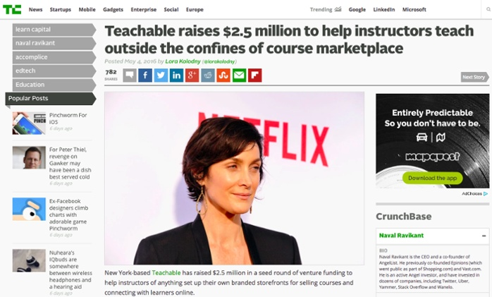 Teachable's April Product Update to help you create and sell a beautiful online course