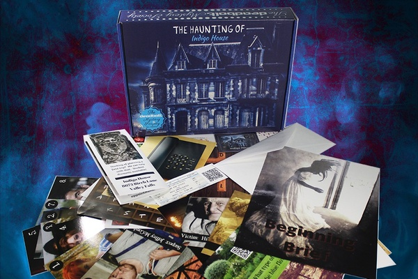 The Deadbolt Mystery Society Valentine's day Subscription Boxes