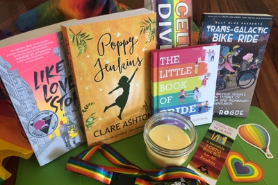 Cool To Be Queer LGBTQ Book Box Photo 1