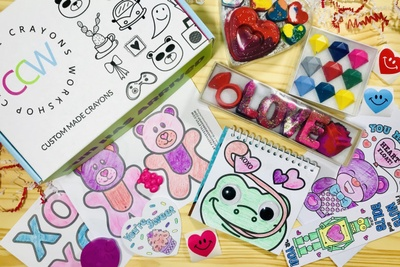 Creative Crayons Coloring Box Photo 1