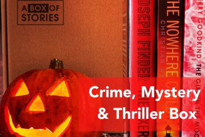 Crime, Thriller and Mystery - Box of 4 New Surprise Books Photo 1