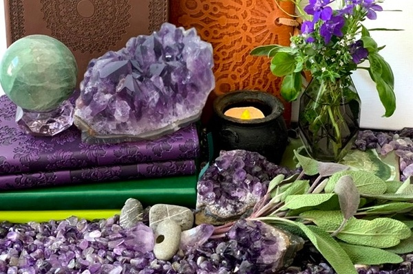 Sage and Amethyst Photo 1