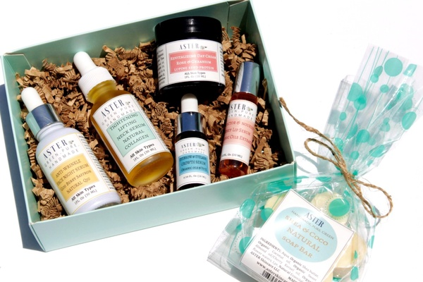 Aster Skincare - Forever Glow & Peace Box - over $170 value Photo 1