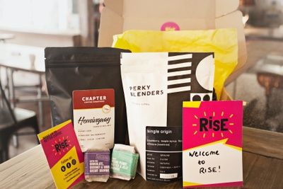 RISE coffee box Photo 2