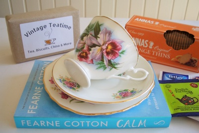 The Mismatched China Vintage Teatime Box Photo 3