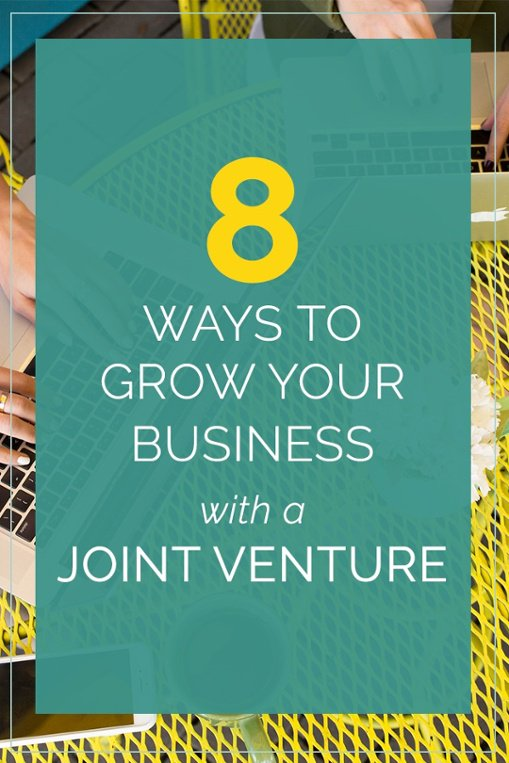 8 ways to grow your business with a joint venture (think webinars, affiliates, guest posting & more). Plus what we've seen and what you can implement today to help you create a successful online course. Click to start using our 8 incredibly sucessful methods now!