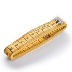 Maßband Profi mit Öse, 150cm/cm, Stück