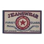 Applikation Jeanslabel, beige, Rechteck, Jeanswear, First Class