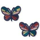 Applikation Schmetterlinge, bunt