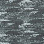 Canvas Wellen - dunkelgrün