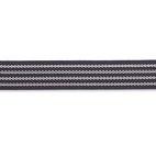 Elastic-Bund, non slip, 25mm, schwarz, 10m